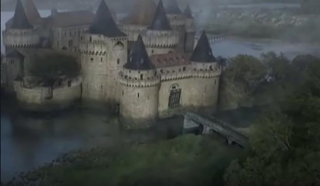"""Burg Schnellwasser (Riverrun) bei """"Game of Thrones"""" / Bild; Screenshot Youtube"""