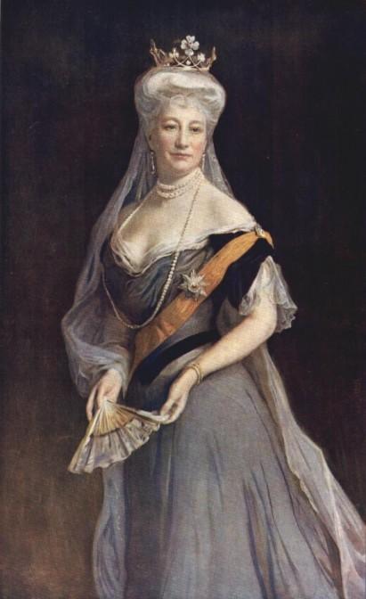 Auguste Viktoria als Kaiserin 1908 / Bild: gemeinfrei