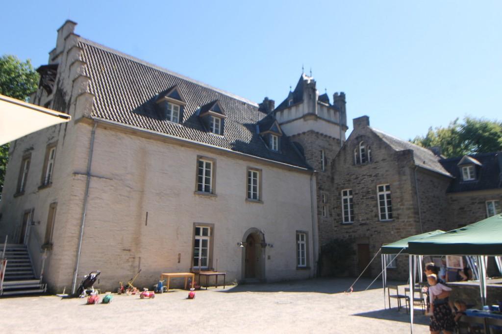 Wasserschloss Werdringen: Der Innenhof