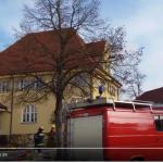 Großbrand beschädigt Schloss Emersacker schwer