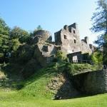 Einsturzgefahr auf der Dalburg: Mauern werden saniert