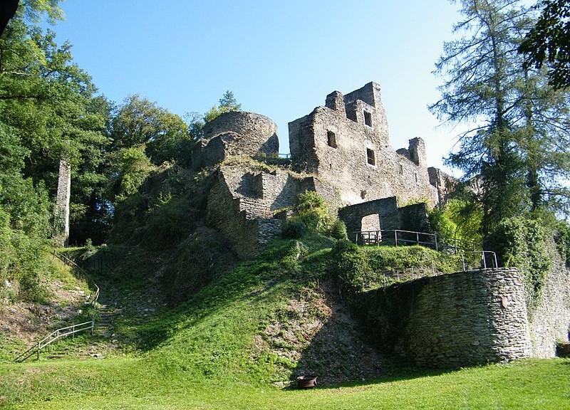 Die Burgruine der Dalburg / Foto: Wikipedia / rexico69 / CC-BY-SA 3.0