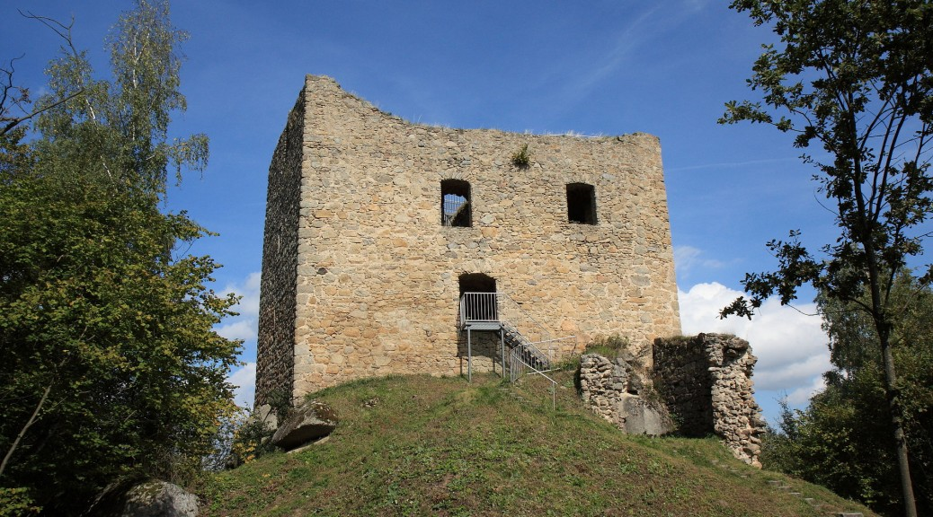 Burgruine Lobenstein (Oberpfalz) / Foto: gemeinfrei