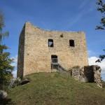 Raubritter-Burgruine Lobenstein wegen Vandalismus geschlossen