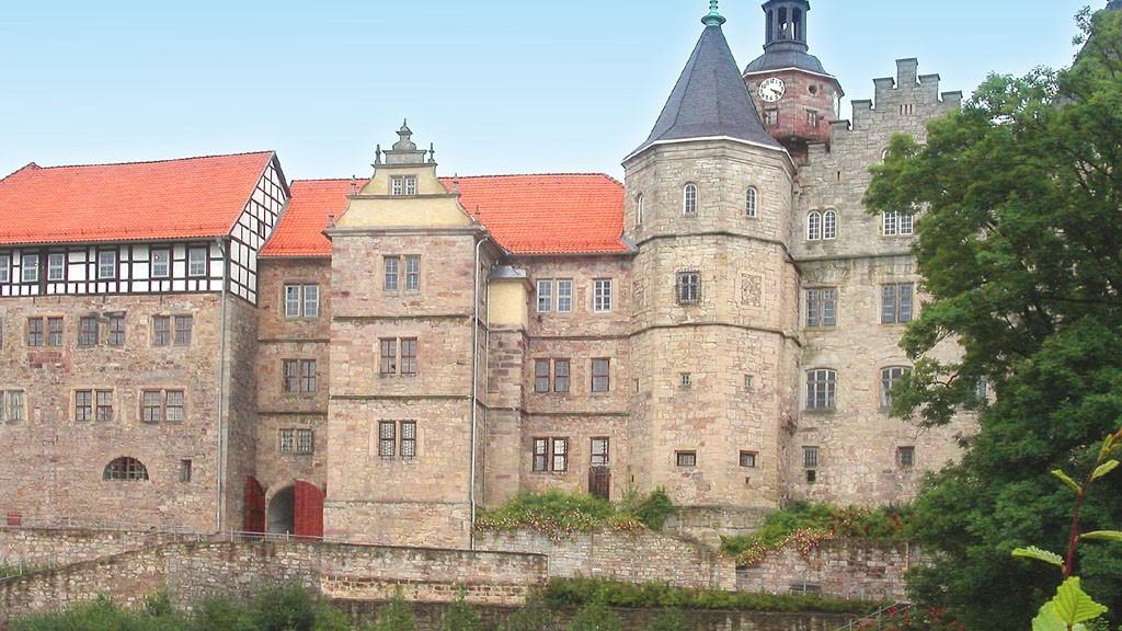 Schloss Bertholdsburg - Das Brunnenhaus wird saniert © Winfried Gaenssler