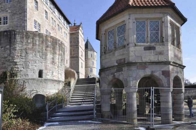 Brunnenhaus von Schloss Bertholdsburg in Schleusingen © Deutsche Stiftung Denkmalschutz/Siebert