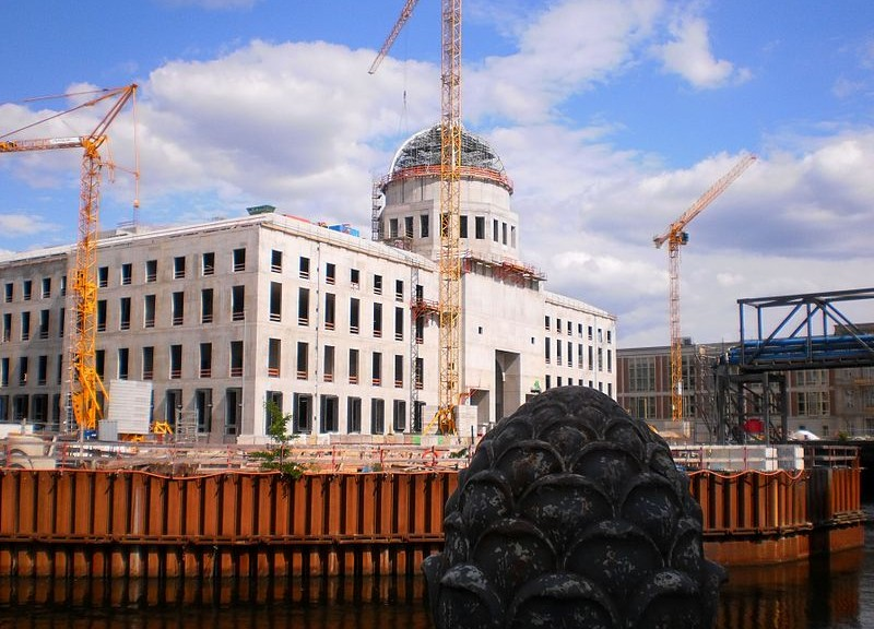 Berliner Stadtschloss mit Kuppel / Foto: Wikipedia / Miriam Guterland / CC-BY-SA 3.0