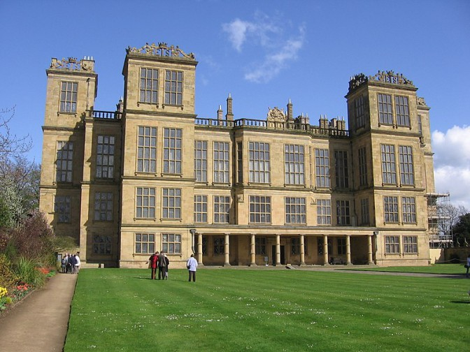Im Film Hampton Court: Hardwick Hall in Derbyshire / Foto: Wikipedia / Chachu207 / CC-BY-SA 3.0