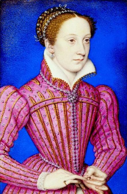 Die echte Maria Stuart, neun Jahre vor ihrem Tod / Bild: gemeinfrei
