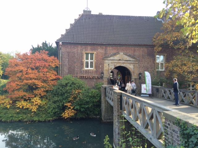 Der Eingang zu Schloss Wittringen / Foto: Burgerbe.de