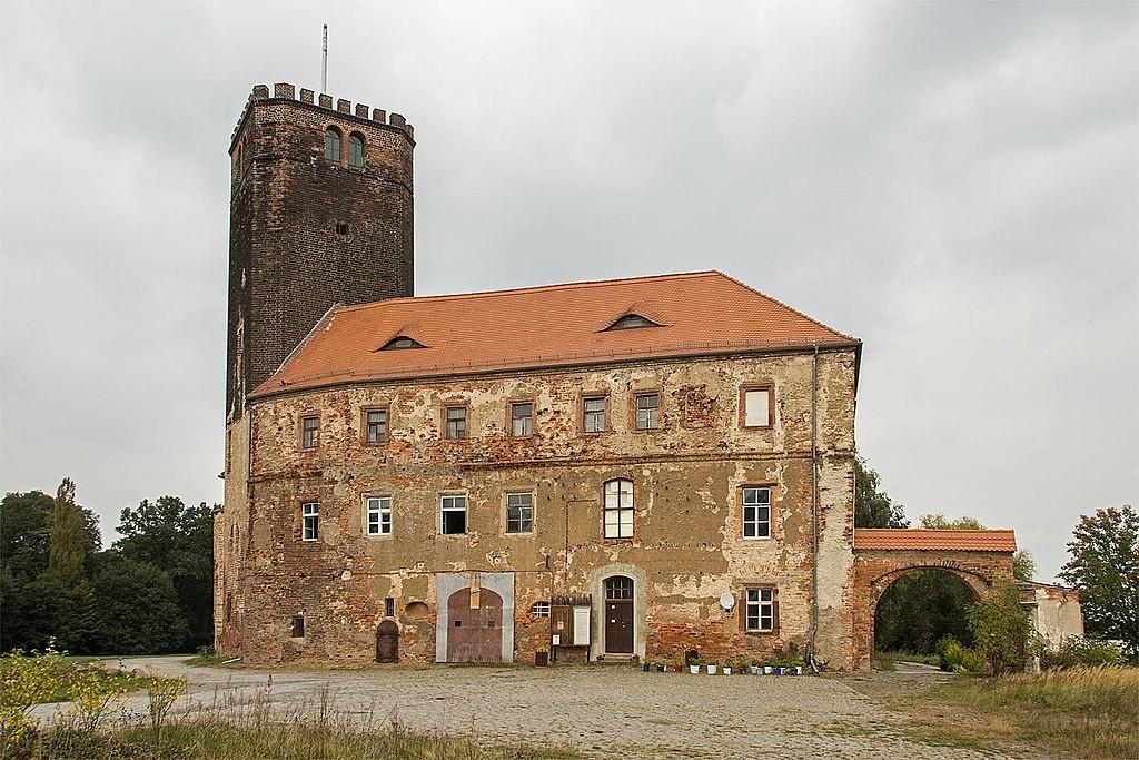 Südseite von Schloss Schnaditz / Foto: Wikipedia / Heidebiber / CC-BY-SA 4.0