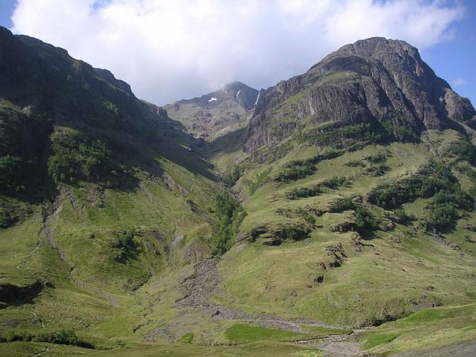 Im Tal von Glen Coe wurde auch gedreht. Foto: Wikipedia / Wojsyl / CC-BY-SA 3.0