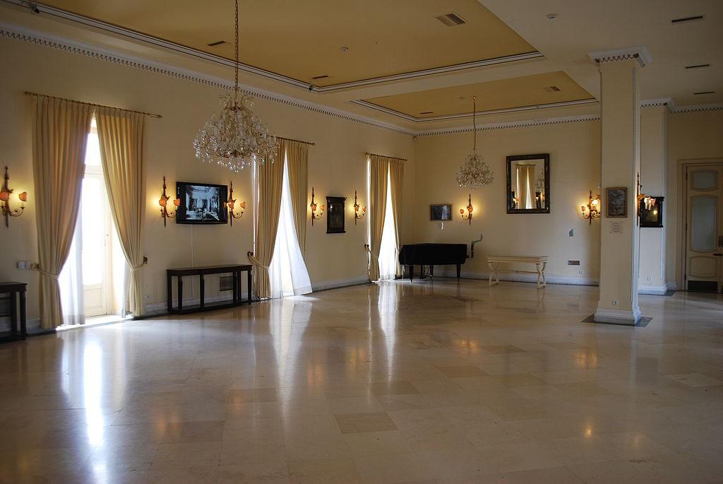 Große Räume, edle Materialien - für die Kaiserin nur das Beste / Foto: Wikipedia / Jean Housen / CC-BY-SA 3.0