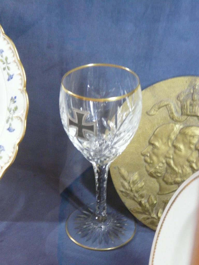 Weinglas aus der Zeit Kaiser Wilhelms / Foto: Wikipedia / Piotrus / CC-BY-SA 3.0
