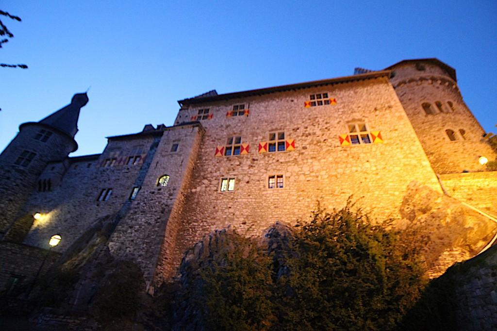 Abendstimmung an der Burg Stolberg / Foto: Burgerbe.de