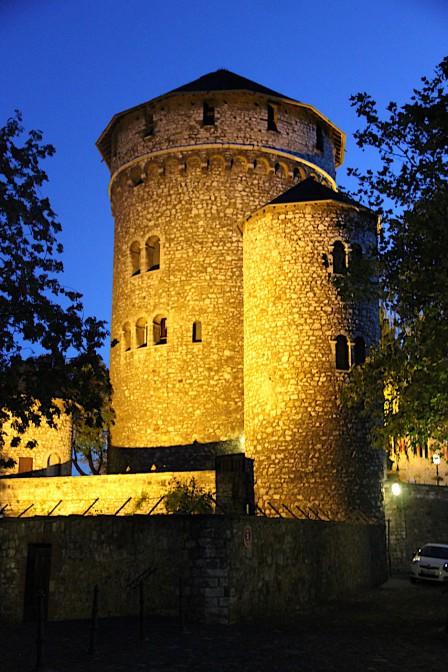 Abendstimmung auf der Burg / Foto: Burgerbe.de