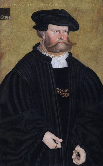 Schlosskäufer 1544: Philipp von Solms-Lich / Bild: gemeinfrei