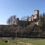 Burg Kerpen in der Eifel: Streitobjekt und Malermotiv